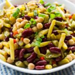 Sweet and Tangy Four Bean Salad