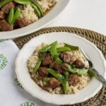 Five Spice Pork with Sugar Snap Peas