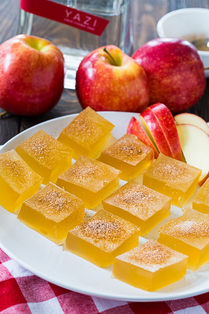 Apple Cider Jello Shots