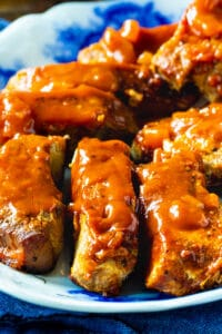 BBQ Country Ribs on a serving plate