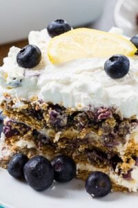 Blueberry Cheesecake Icebox Cake