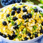Blueberry, Corn & Feta Salad