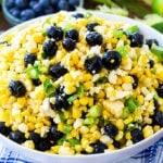 Blueberry, Corn & Feta Salad