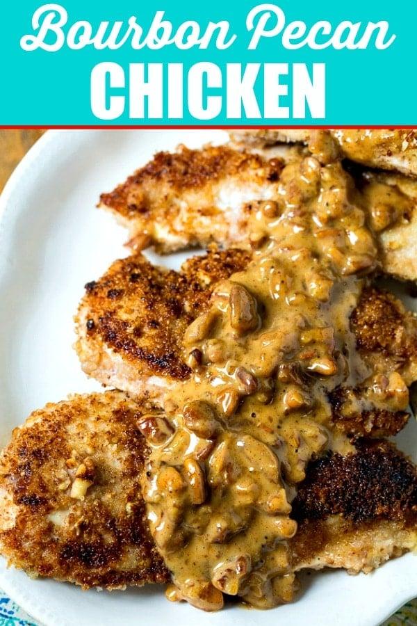 Bourbon Pean Chicken