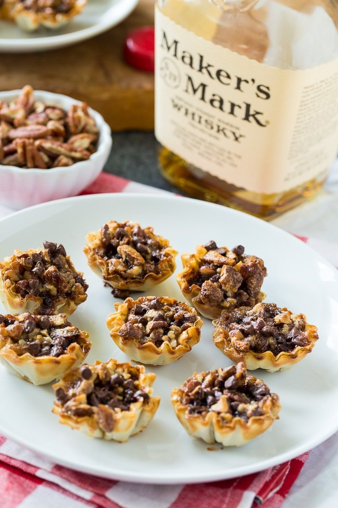 Bourbon Pecan Tartlets