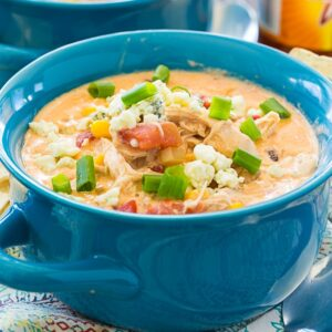 Crock Pot Buffalo Chicken Chili