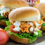 Easy Buffalo Chicken Sliders