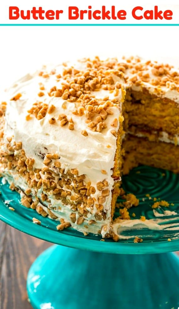 Butter Brickle Cake