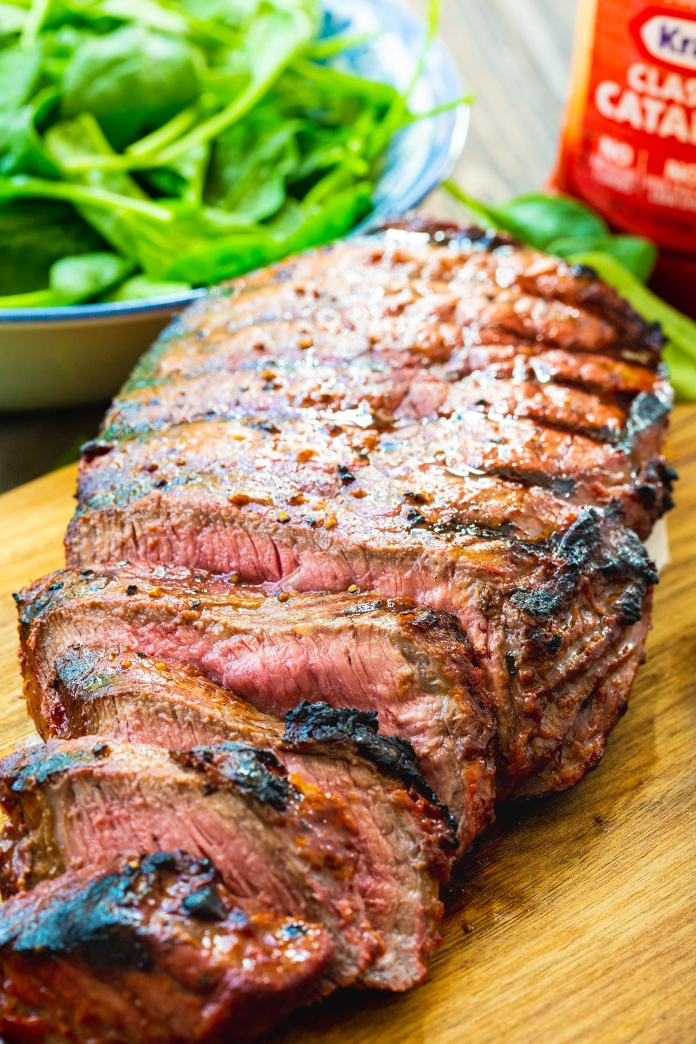 Sliced Catalina London Broil .