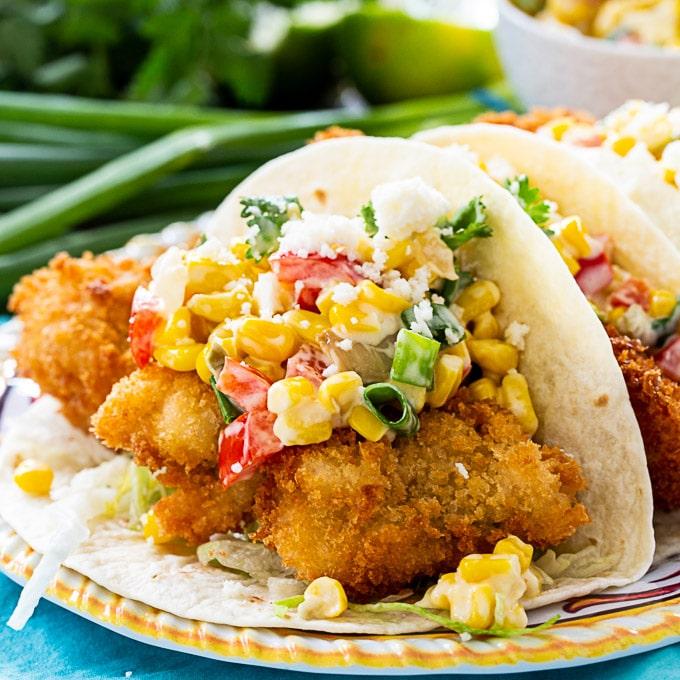 Catfish Tacos