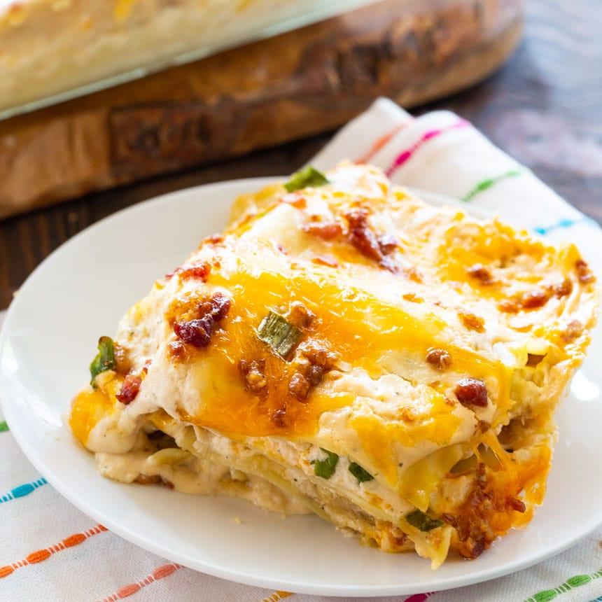 Chicken Bacon & Ranch Lasagna