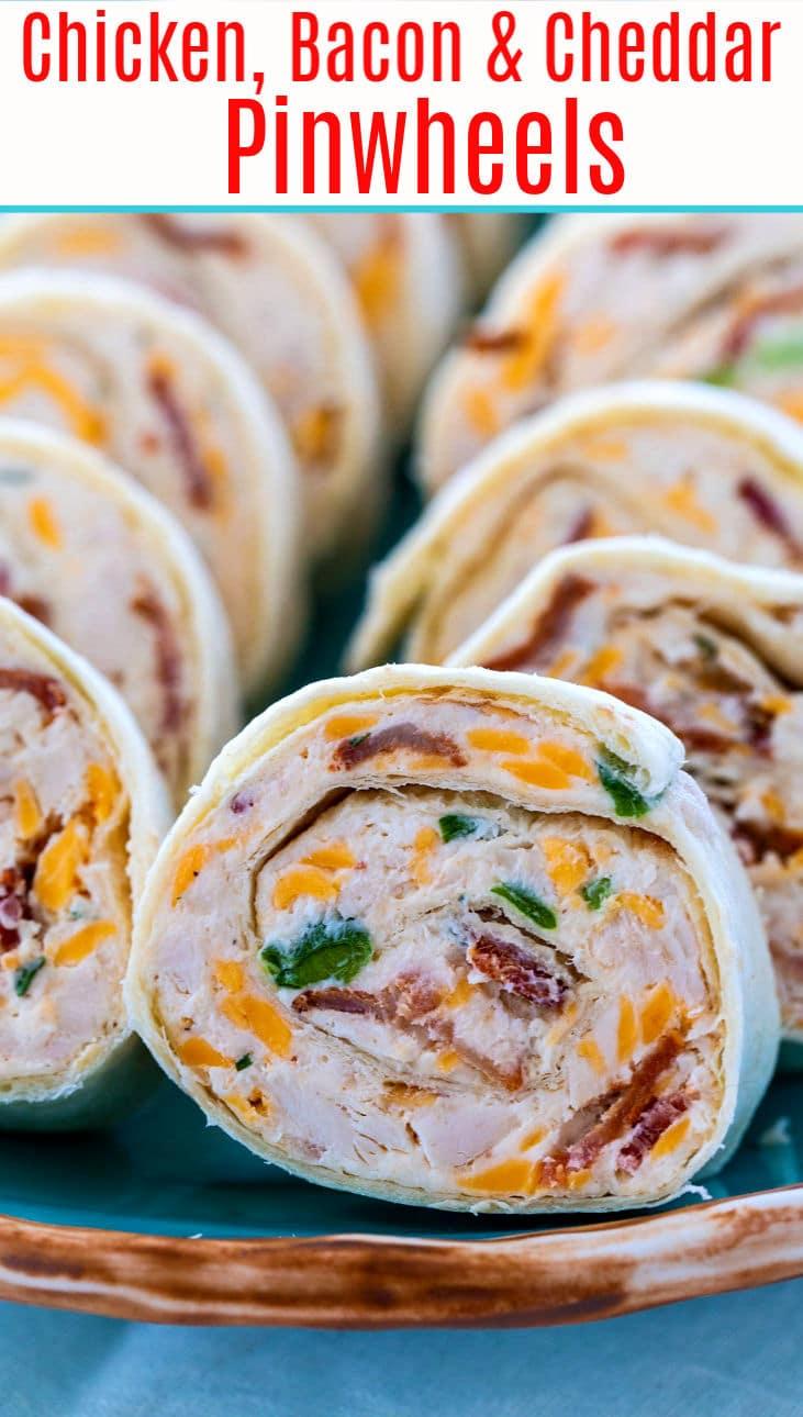Chicken, Bacon, and Ranch Pinwheels