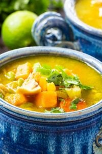 Chicken Chowder with Curry