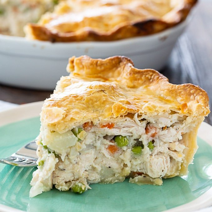 Easy Chicken Pot Pie Spicy Southern Kitchen
