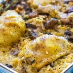 Bacon Baked Chicken and Rice