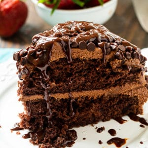 Easy Death By Chocolate Cake