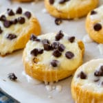 Chocolate Cream Cheese Danishes
