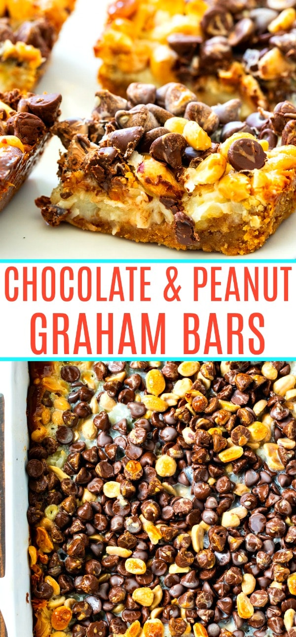 Chocolate and Peanut Graham Bars