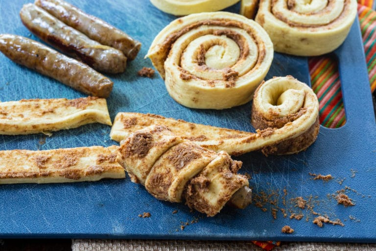 Cinnamon Roll Pigs in a Blanket