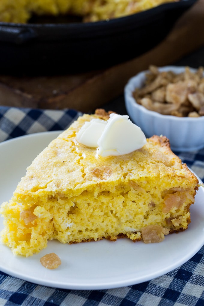 Crackling Cornbread- made with pork cracklings