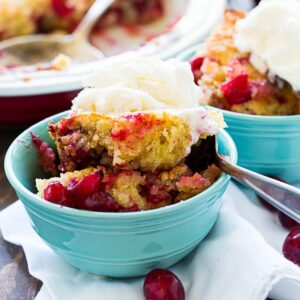 Cranberry Walnut Cobbler