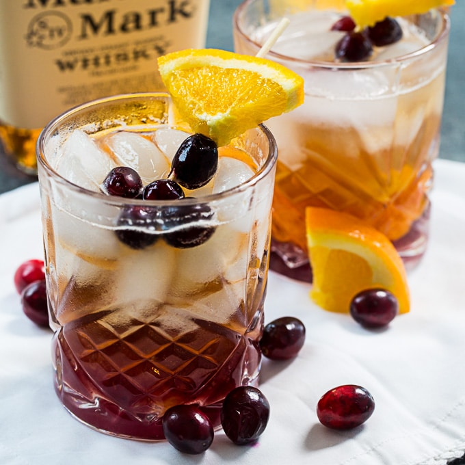 Cranberry Old-Fashioned