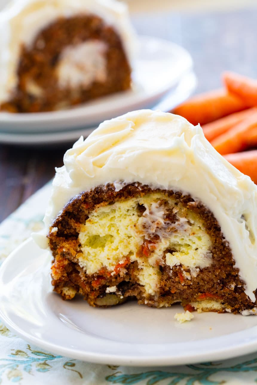 Carrot Cake filled with Cream Cheese