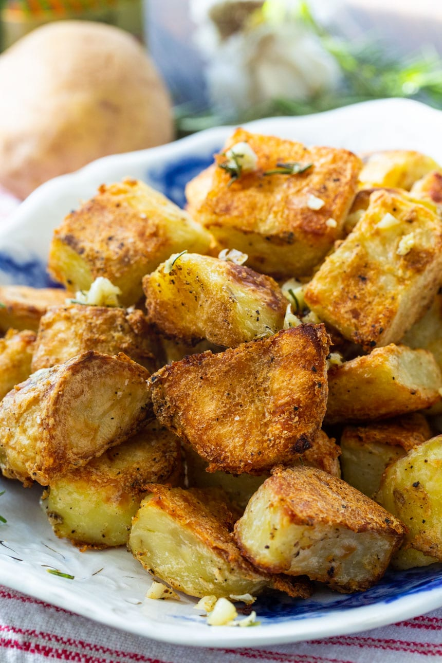 Fabulously Crispy Roasted Potatoes