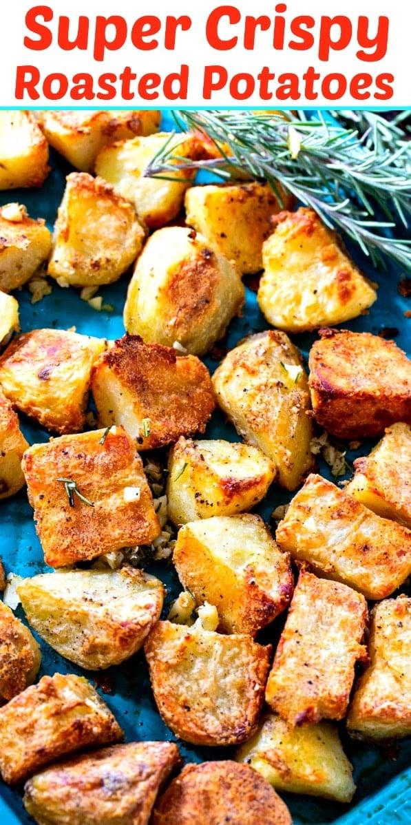 Super Crispy Roasted Potatoes