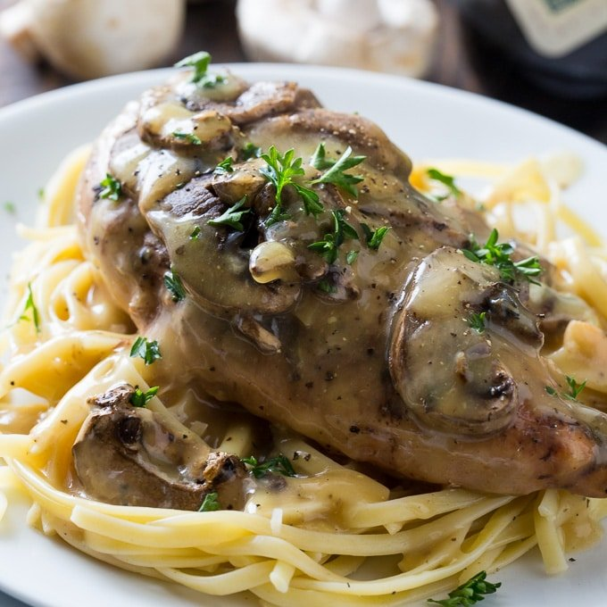 Crock Pot Chicken Marsala Spicy Southern Kitchen