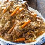 Pot Roast on a serving platter.
