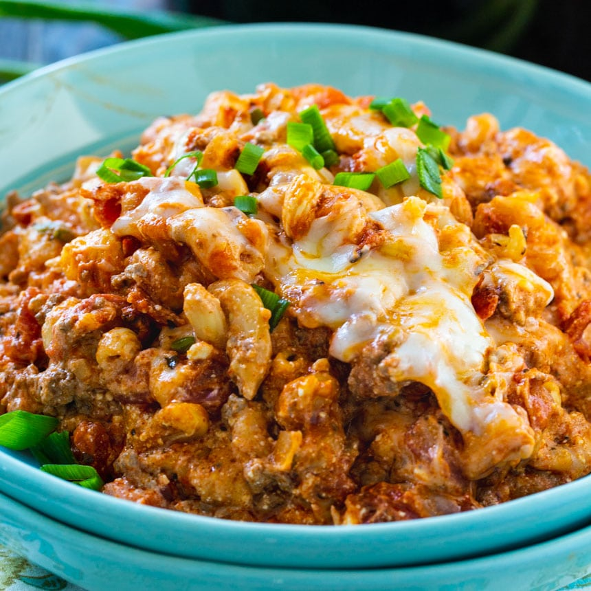 Crock Pot Homestyle Ground Beef Casserole Spicy Southern Kitchen
