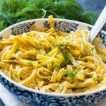 Dilled Egg Noodles