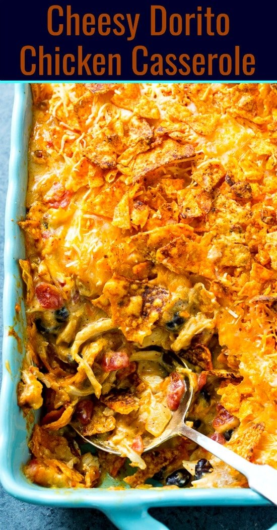 Cheesy Dorito Chicken Casserole