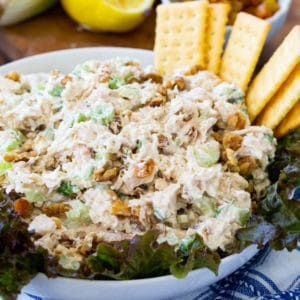 Golden Chicken Salad
