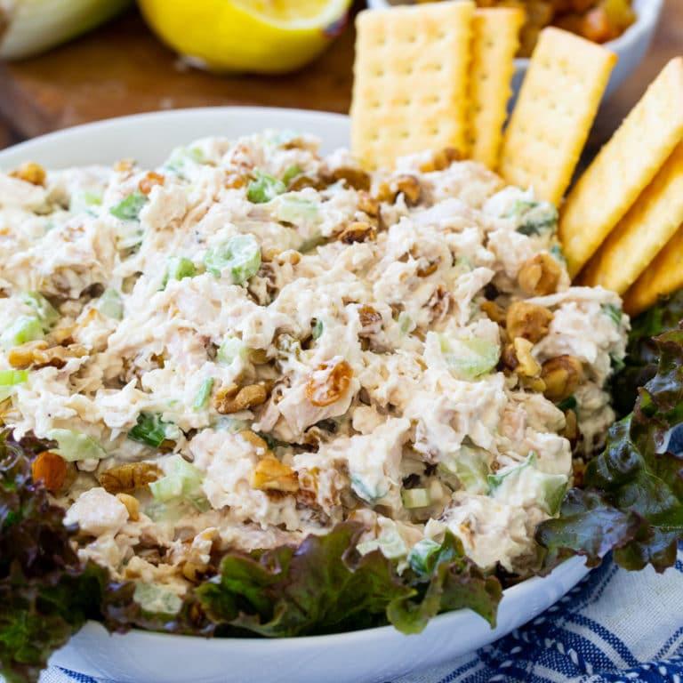 Golden Chicken Salad