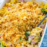 Ham, Broccoli, and Noodle Casserole