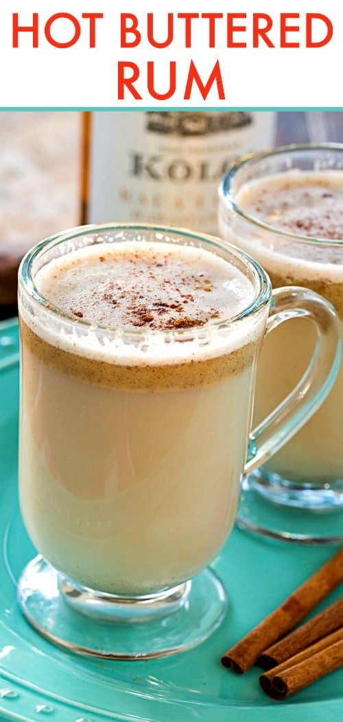 Hot Buttered Rum makes a great holiday cocktail