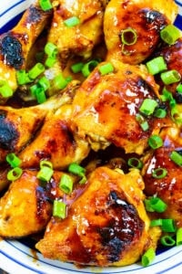 Hot Honey Chicken on a large serving plate.