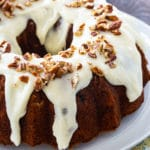 Bundt Cake with Hummingbird Flavors