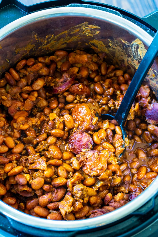 Cowboy Beans in Instant Pot