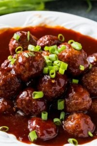 Instant Pot Sweet and Spicy Meatballs