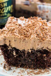 Irish Cream Poke Cake