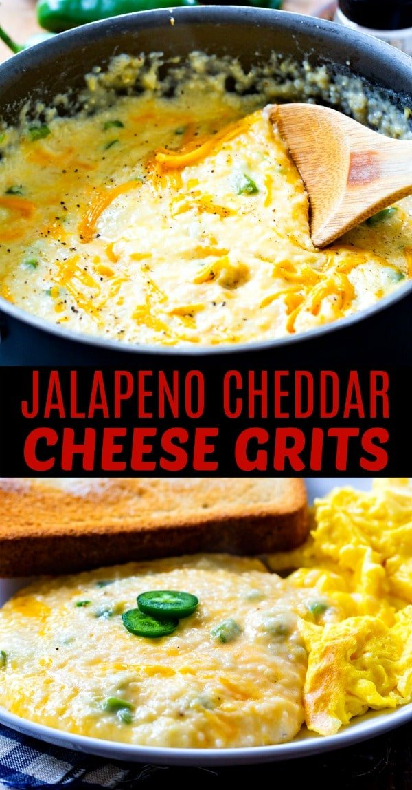 Jalapeno Cheddar Cheese Grits