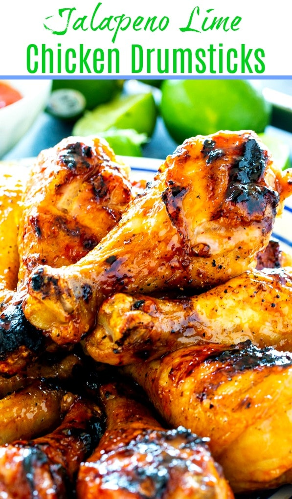 Jalapeno Lime Chicken Drumsticks