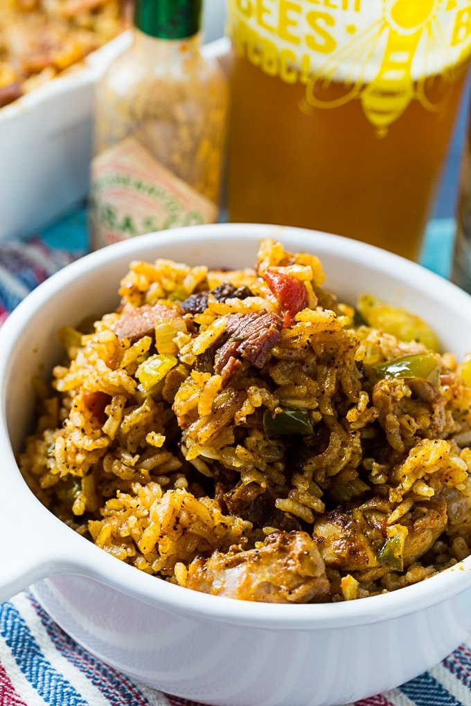 Chicken and Tasso Jambalaya