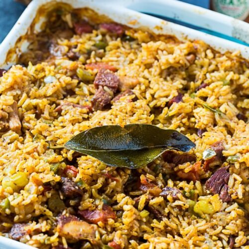 Paul Prudhomme's Chicken and Tasso Jambalaya