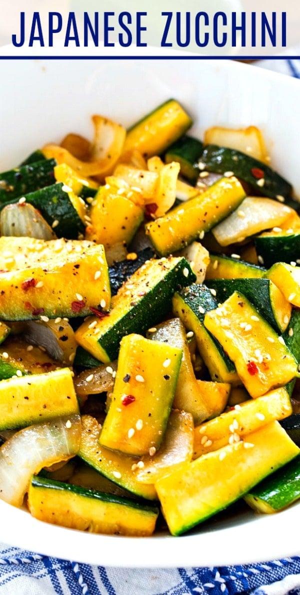 Japanese Hibachi-Style Zucchini