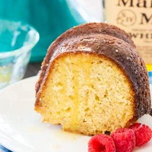 Kentucky Butter Cake with Bourbon