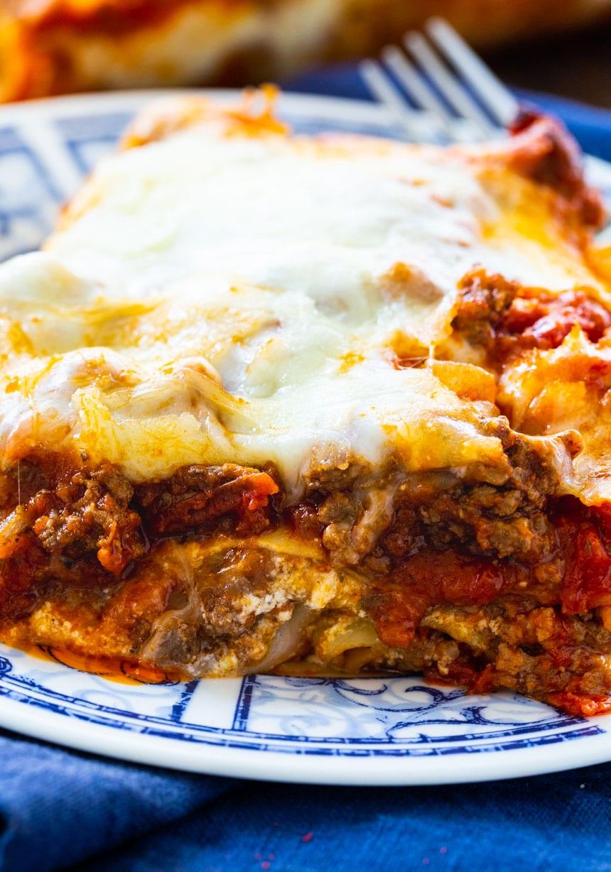 Easy Easy Make-Ahead Lasagna